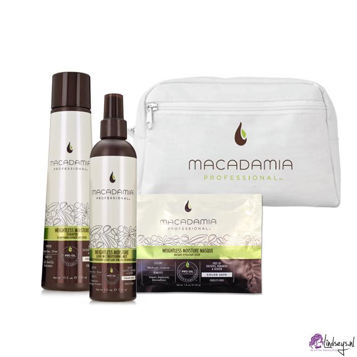 Macadamia Weightless Moisture Beauty Bag