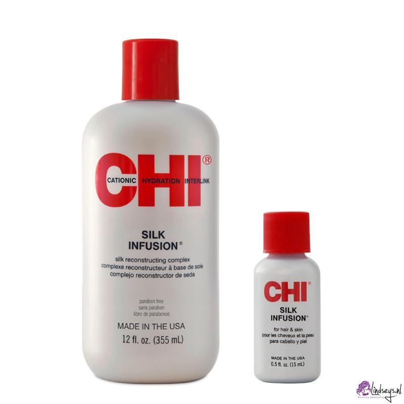 CHI Silk Infusion 355 ml + Reisflacon