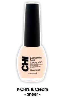 CHI Nail Lacquer P-Chi`s And Cream CL014