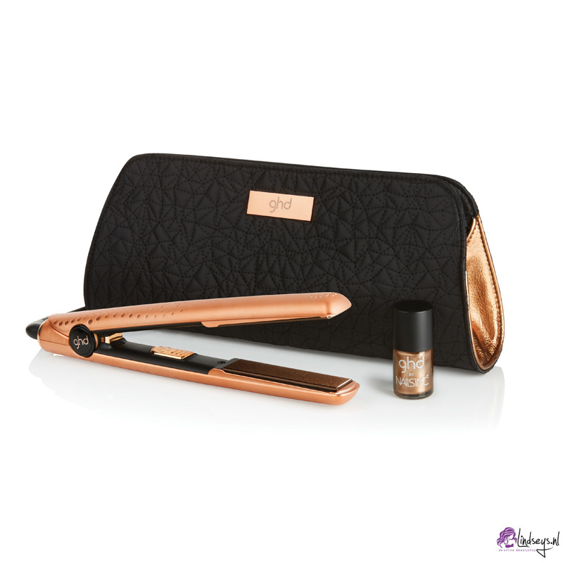 ghd V copper luxe premium gift set