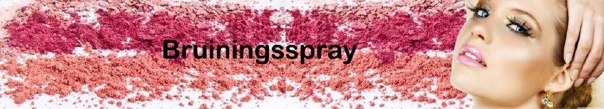 Bruiningsspray