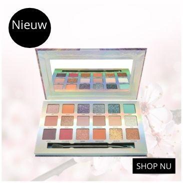 W7 make-up palette oogschaduw
