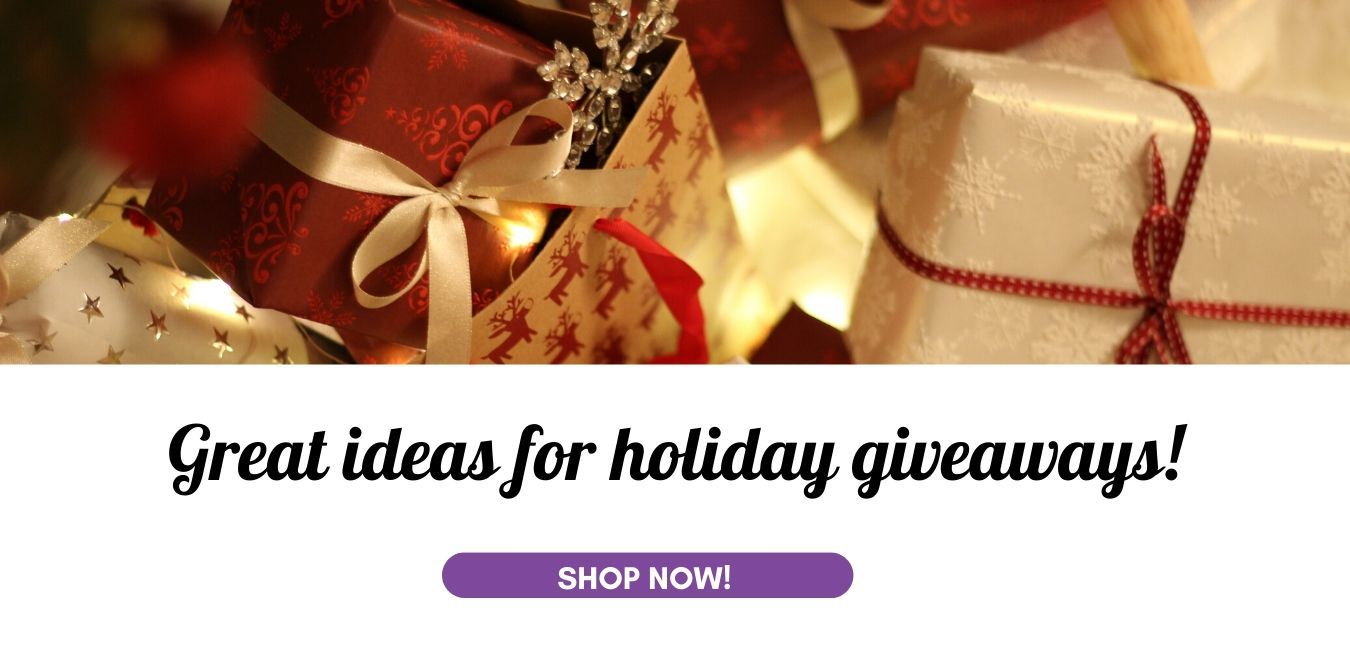 Kerst Great ideas for  holiday giveaways!