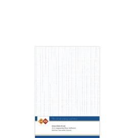 Card Deco linnen papier 14,8x21cm gebroken wit LKK-A532 10vel