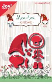 Mon Ami  - Gnome- snij en embossing mal  6002/1386