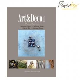 Powertex boek Art & Deco 1 NL-FRA-ENG-DUI 144 blz