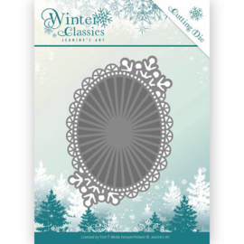 winter classics mirror ovaal JAD10025