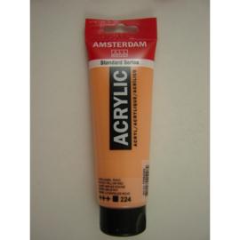 Amsterdam acrylverf tube 120ml Napelsgeel Rood 224