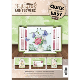 Quick and Easy no 12 Butterflies and flowers QAE10012