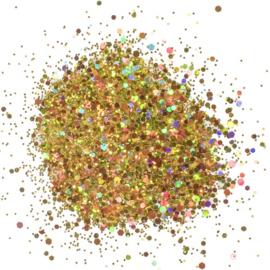 Cosmic Shimmer Holographic Glitterbitz Midas Gold