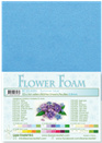 flower foam A4 Summer blue 25.4285