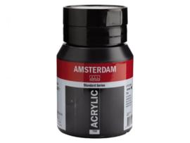 Amsterdam acrylverf zwart 500ml 735