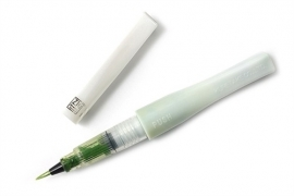 ZIG - Memory System - Wink Of Stella - Glitter Brush Marker - Glitter LIGHT GREEN  041