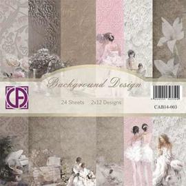 Background design 24 vel 2x12 designs CAB14-003