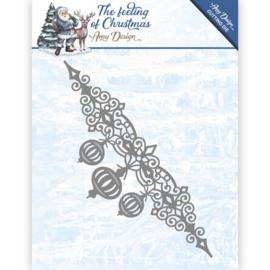Card Deco - Amy Design - Die - The feeling of Christmas - Christmas balls border ADD10112