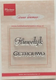 clear stamp nederlandse tekst CS0885