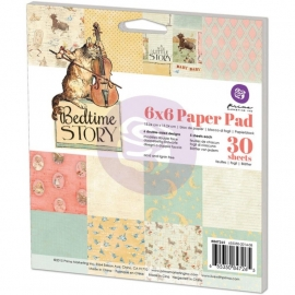 "Prima Marketing Paper Pad 6""X6"" Bedtime story  847265"