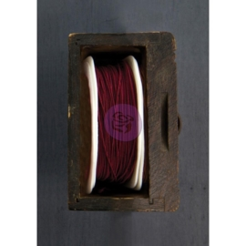 Wire Thread 25yd rose red