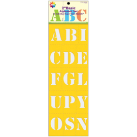 2inch basic alphabet set 971520720