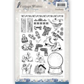 clear stamp vintage winter afbeeldingen adcs10021