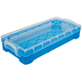 Storage Studios Super Stacker Pencil Box helemaal transparant  20x 9cm 34365