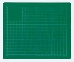 Snijmat 30x22cm A4 groen