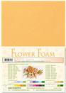 flower foam A4 Mustard 25.4179