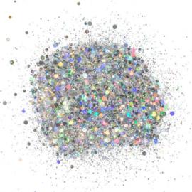 Creative Expressions • Cosmic Shimmer glitterbitz silver