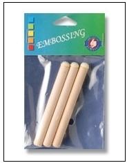 Embossing foam brush 5 mm. a 3 st. 1103-01