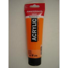 Amsterdam acrylverf tube 120ml Azo Oranje 276