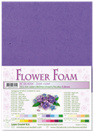 flower foam A4 Dark violet 25.4254