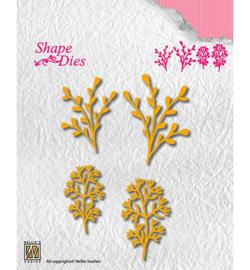 shape dies leaves 3 SD134