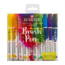 ecoline brush pen Illustrator set van 10 11509807