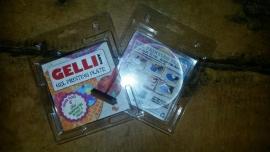 "Gelli Arts Printing Plate Round 4""  10cm"