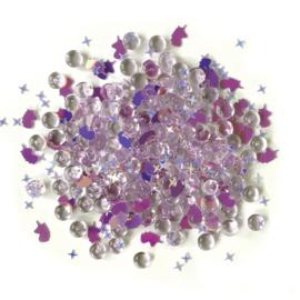 Buttons Galore Shimmerz Embellishments 18g unicorn legend