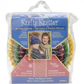 Knifty Knitter en andere brei/haak tools