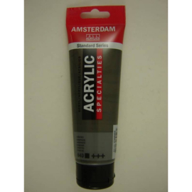 Amsterdam acrylverf Metallic tube 120ml Grafiet 840