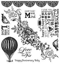 Darcie's rubber stamp set JCS163 AKTIE!!!!