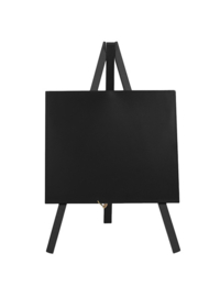 Securit® Mini tripod table chalk board – Wood with lacquered black finish – 24x15cm 8200/0121