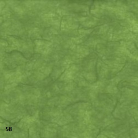 """mulberry papier 25grams """"kozo""""papier 64x47 cm donkergroen  (gevouwen naar ca. 21.5x15.5cm)"""