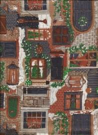 voordeuren ramen lantaarns (1x1,1m)