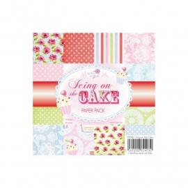 "Wild Rose Studio Ltd. Paper Pack 6""X6"" 36/Pkg Icing On The Cake pp042"