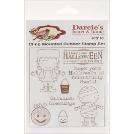Darcie's cling mounted rubber stempel set JCS180