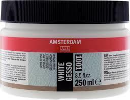 Amsterdam gesso wit 250ml 1001