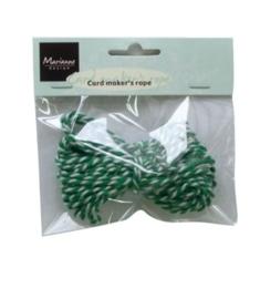 MD september Ribbons rope green/white / 1 PK [117289/8537]