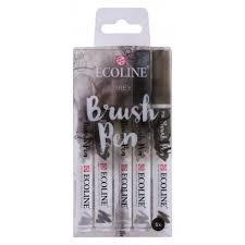 ecoline brush pen Pastel set van 5 kleuren 11509907