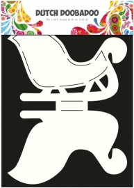 Dutch Doobadoo Dutch Card Art stencil kerstslee A4 470.713.506