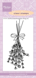 clear stamp bloemen CS0967