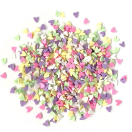 Buttons Galore Sprinkletz Embellishments 12g Deco hearts