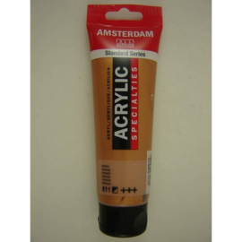 Amsterdam acrylverf Metallic tube 120ml brons 811